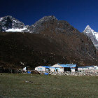 Machhermo morning (4.410m), Sagarmatha National Park, Nepal